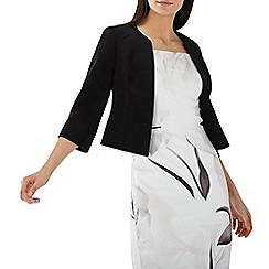Coast - Black 'Kemara' 3/4 sleeve structured jacket