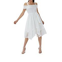 Coast - Ivory lace 'Myella' cold shoulder dress