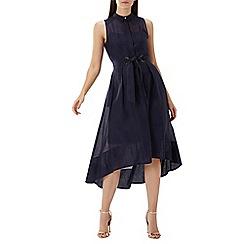 Coast - Navy 'Giorgia' sheer shirt dress