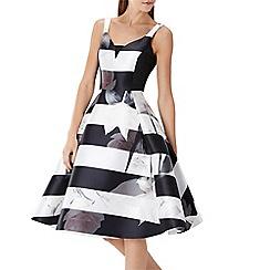 Coast - Alpina floral stripe dress