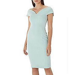 Coast - Mint 'Jessa' bardot shift dress