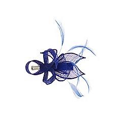 Coast - Cobalt blue 'Alexa' feather mini clip