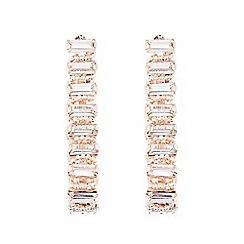 Coast - Rose gold 'Kiona' gem earrings