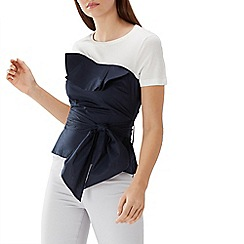 Coast - Navy 'Nikita' bustier t shirt top
