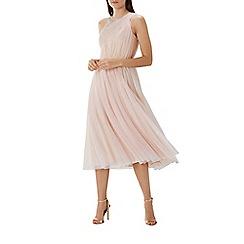 Coast - Blush pink tulle 'Karo' midi dress
