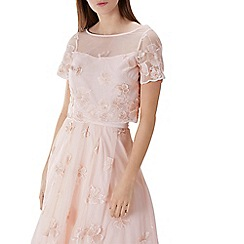 Coast - Blush pink 'Neive' floral lace top