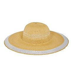 Coast - Neutral 'Media' wide brim straw hat