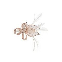 Coast - Blush 'Nahina' mini feather clip