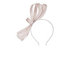 Coast - Neutral 'Evelyn' looped fascinator