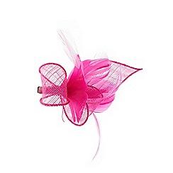 Coast - Pink 'Eva' feather mini clip