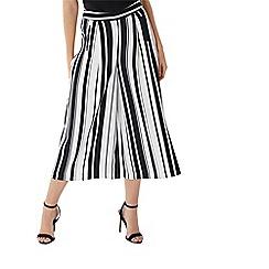 Coast - Mono stripe 'Demi' culotte trouser