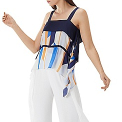 Coast - Multicoloured 'Suri' striped cami top