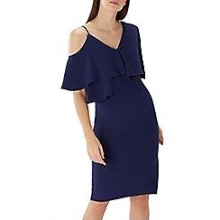 Coast - Navy 'Marie' soft frill shift dress