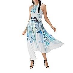 Coast - Floral print 'Mace' soft halterneck maxi dress