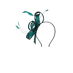 Coast - Forest green 'Araminta' fascinator
