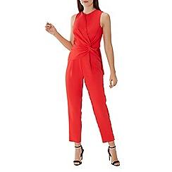 Coast - Red 'Izobel' twist front jumpsuit