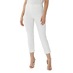 Coast - Ivory white 'Alexa' slim leg trouser