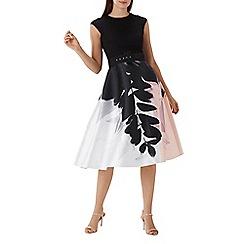Coast - Floral print 'Drake' fit and flare midi dress