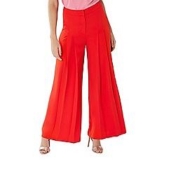 Coast - Red 'Rio' wide leg trouser