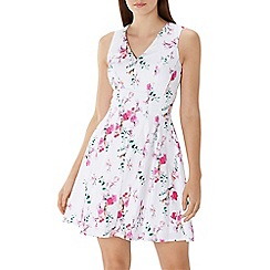 Coast - Floral printed 'Flora' cotton dress