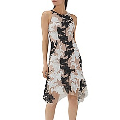 Coast - Mono floral 'Kiera' lace shift dress