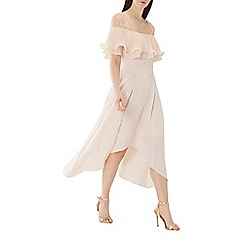 Coast - Blush pink 'Daphne' pleated midi dress