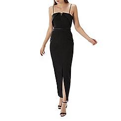 Coast - Black 'Daffodil' eyelet structured maxi dress