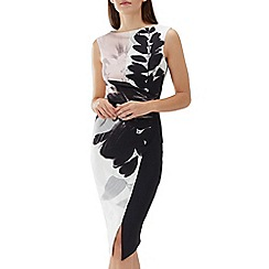 Coast - Floral print 'Drake' scuba shift dress