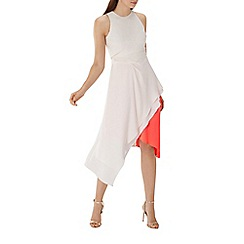 Coast - Blush pink 'Kai' colour block midi dress