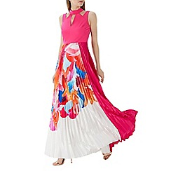 Coast - Pink printed 'Maggie' maxi dress