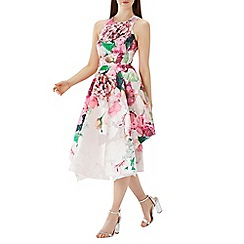 Coast - Floral print 'Erica' jacquard midi dress