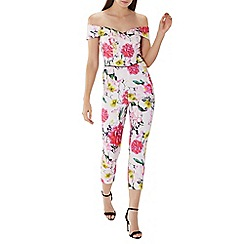 Coast - Bold floral 'Denise' jumpsuit