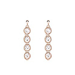Coast - Rose gold 'Zuri' sparkle earrings