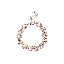 Coast - Rose gold 'Zuri' sparkle bracelet