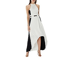 Coast - Monochrome 'Emma' eyelet maxi dress