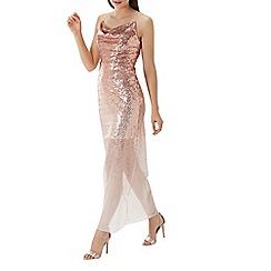 Coast - Blush pink 'Tizzy' ombre sequin maxi dress