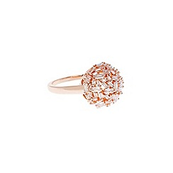 Coast - Rose Gold 'Mae' sparkle ring