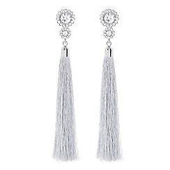 Coast - Silver 'Verena' tassel earrings