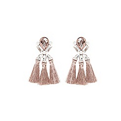 Coast - Rose gold 'Viviana' tassel earrings