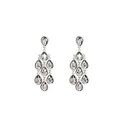 Coast - Charcoal 'Ayla' crystal statement earrings