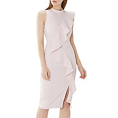 Coast - Blush pink 'Karly' ruffle shift dress