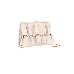 Coast - Blush pink 'Amari' ruffle bag