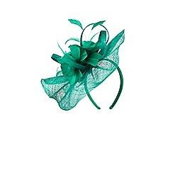 Coast - Green 'Eden' floral fascinator