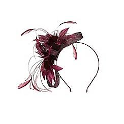 Coast - Purple merlot 'Silvie' floral fascinator