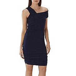 Coast - Navy 'Clara' ruched jersey dress
