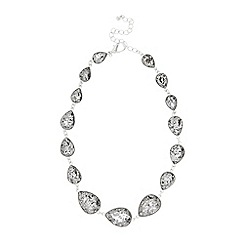 Coast - Charcoal 'Ayla' crystal statement necklace