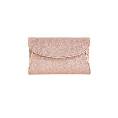 Coast   Rose Gold 'myla' Glitter Clutch Bag by Coast