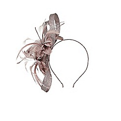Coast - Charcoal grey 'Esmeray' fascinator