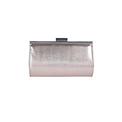 Coast - Metallic grey 'Adria' clutch bag