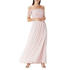 Coast - Blush pink 'Maddie' embroidered maxi dress